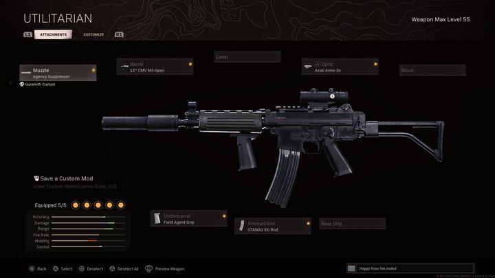 The Krig 6 in Call of Duty: Warzone.
