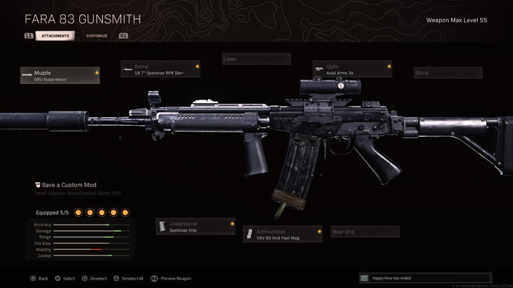 The FARA 83 in Call of Duty: Warzone.