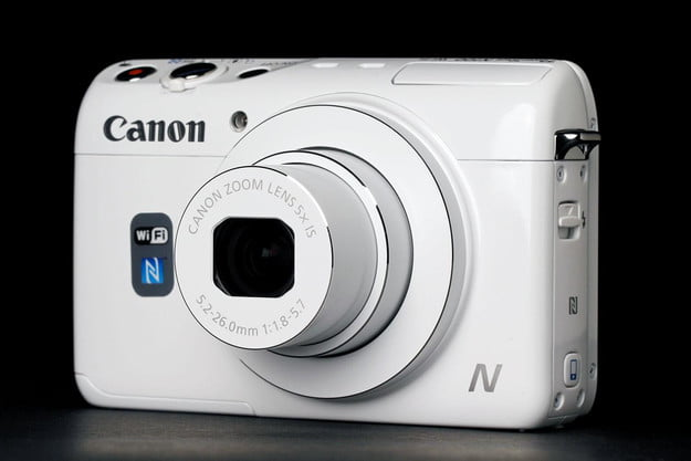 Canon N100 front left angle