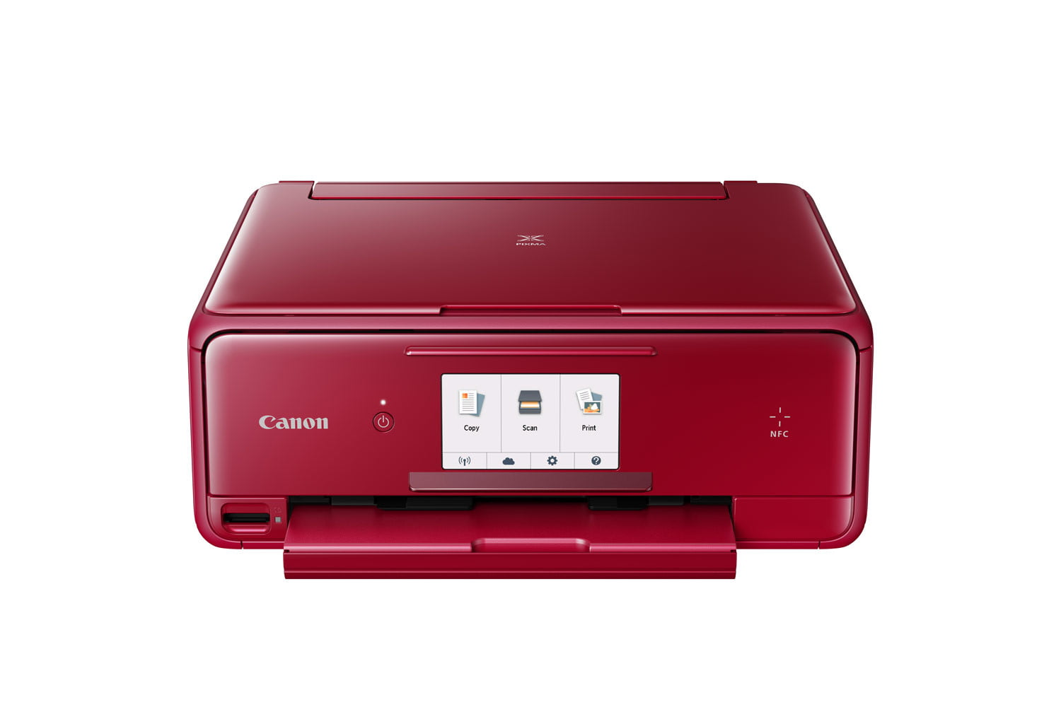 canon pixma ts all in ones ts8020 red cutout