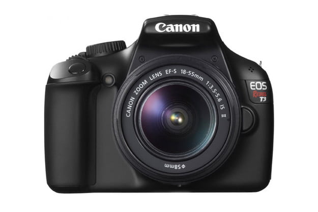 Canon EOS Rebel T3 front