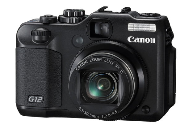 canon powershot g12 review front