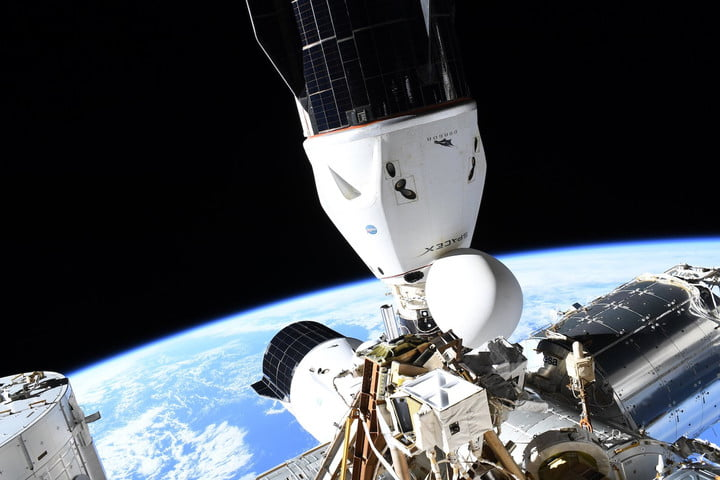SpaceX's Cargo Dragon CRS-23 docked with the International Space Station.