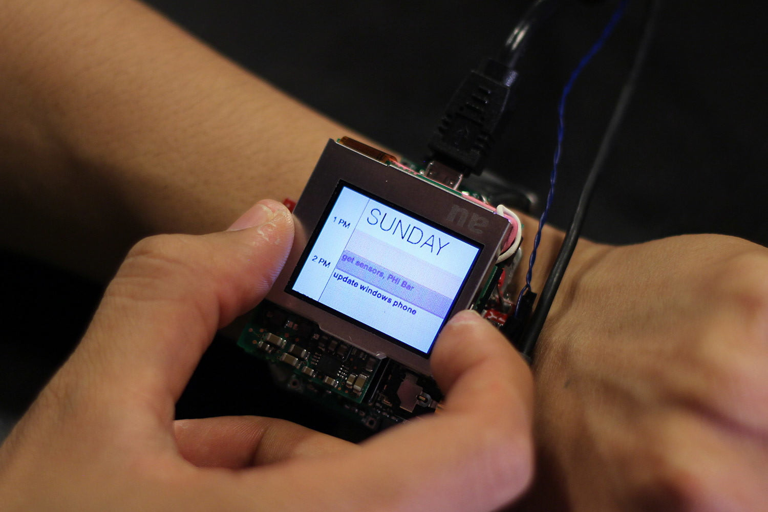carnegie mellon research on smartwatch features prototype 006