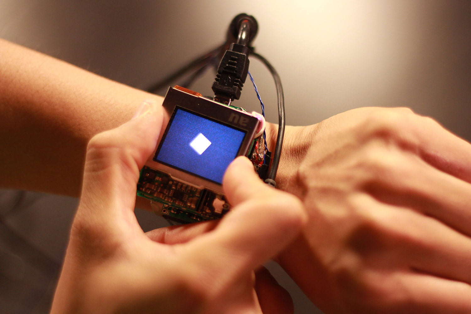 carnegie mellon research on smartwatch features prototype 007