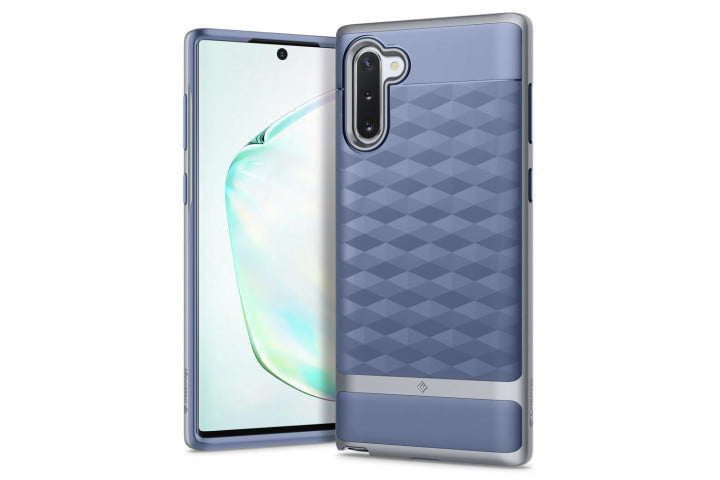 Caseology Parallax Case for Samsung Galaxy Note 10 in silver