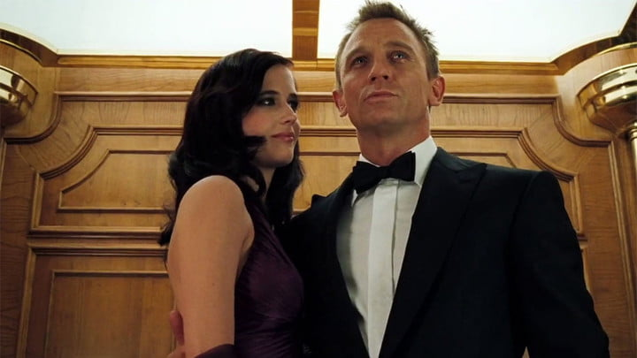 Eva Green and Daniel Craig in Casino Royale, best action movies on Netflix