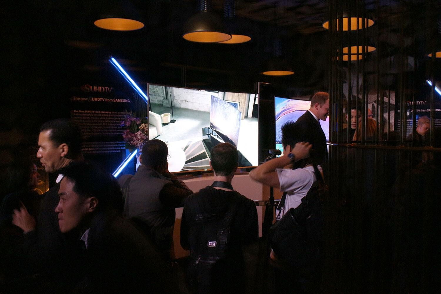 samsung announces new suhd lineup at ces 2015 tv  8