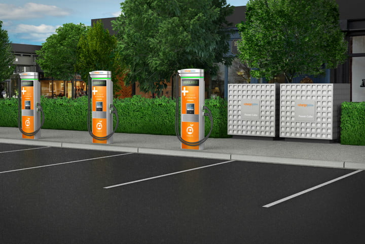 chargepoint ge charging station express plus