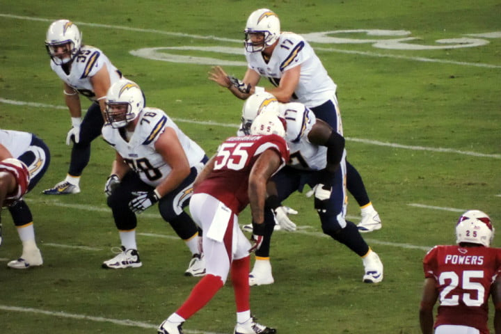 nfl sina weibo chargers vs cardinals football