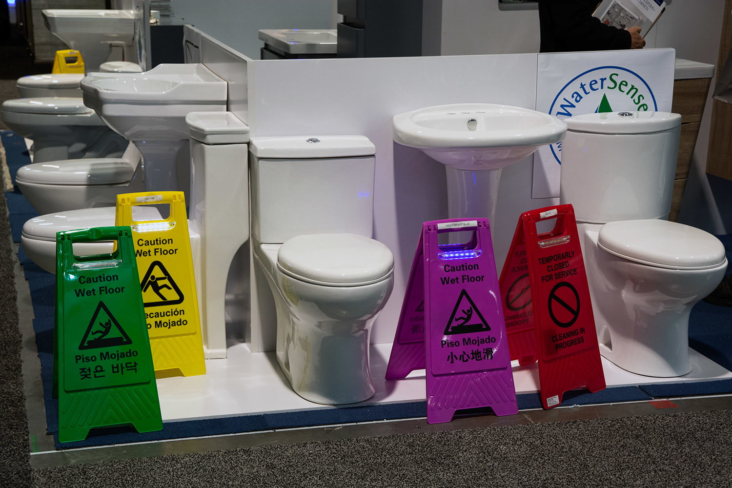10 weirdest things 2016 international builders show chase safety supply led wet floor signs 0706