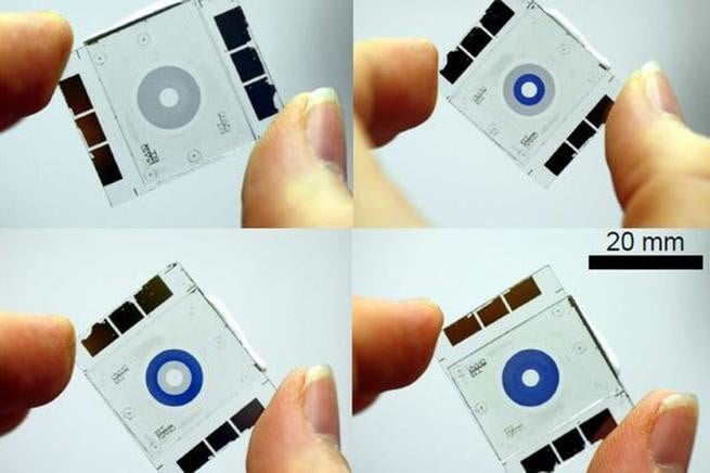 micro iris technolgy uses chemicals to create small smartphone camera apertures chemical 1
