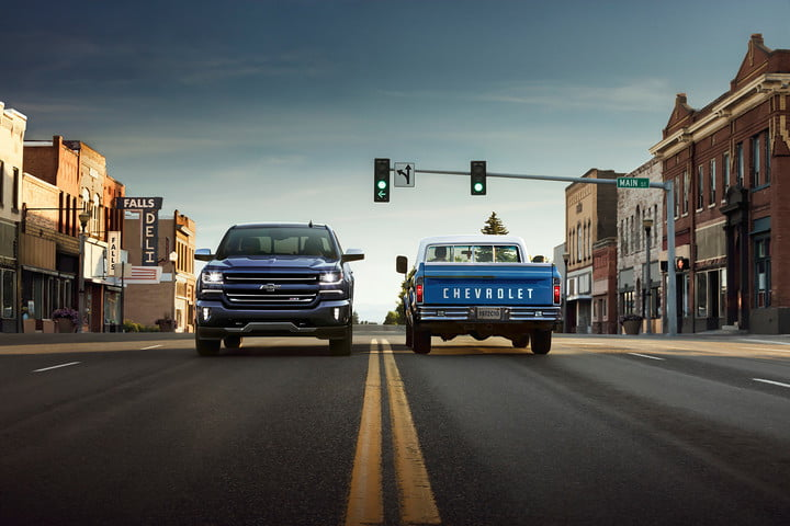 Chevrolet Pickup Trucks old and new