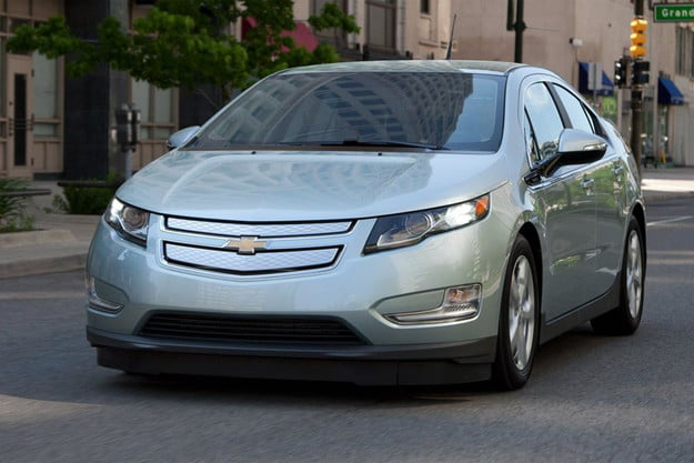 2013 chevrolet volt review chevy exterior front left side angle