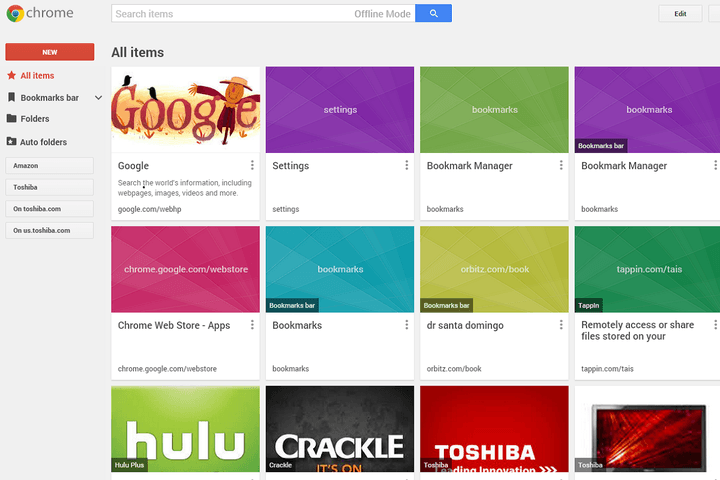 not a fan of googles new card based bookmarks good news theyre gone chrome