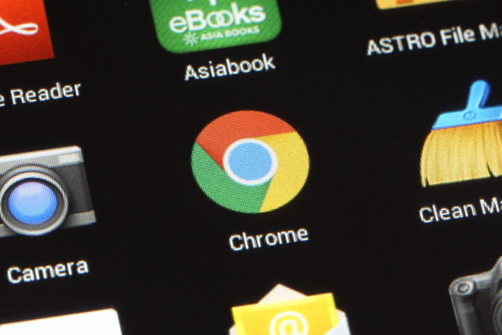 chrome tabs apps separate icon android phone 123rf