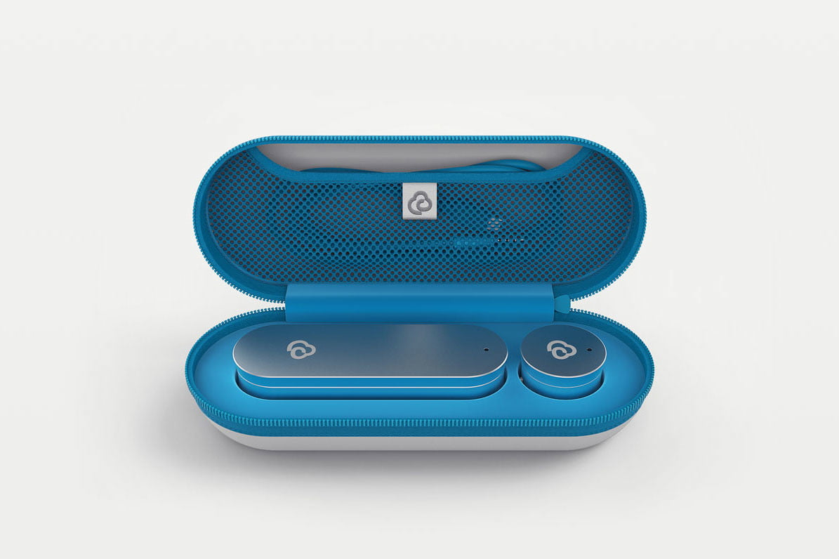 clinicloud smart stethoscope thermometer case