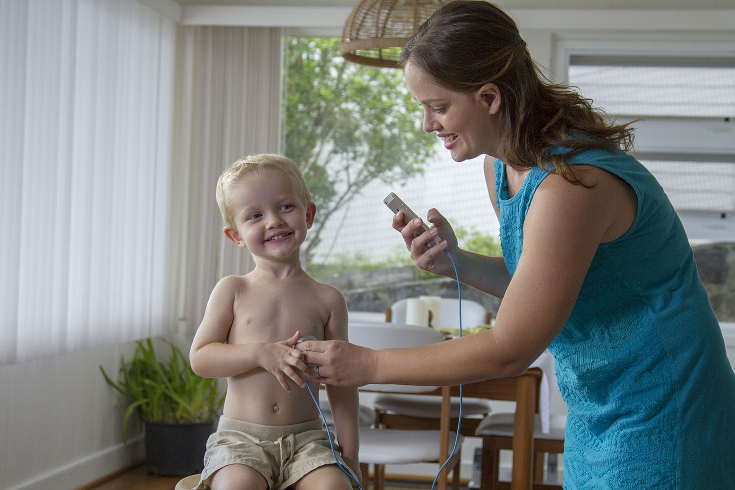 clinicloud smart stethoscope thermometer stetho