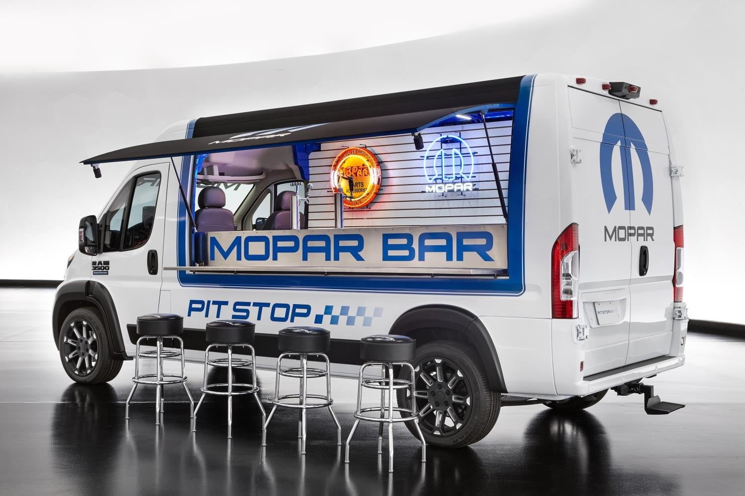 Ram ProMaster Pit Stop concept