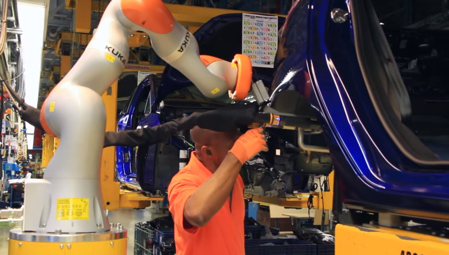 ford using collaborative robots to build cars make coffee  co bots