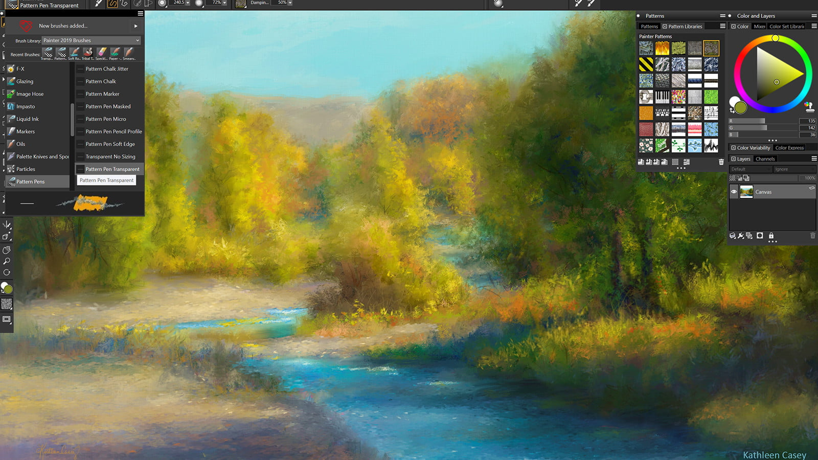 corel painter 2019 announced color  pattern pens and patterns photo workflow