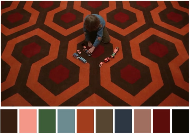 cinema palettes twitter account color theory