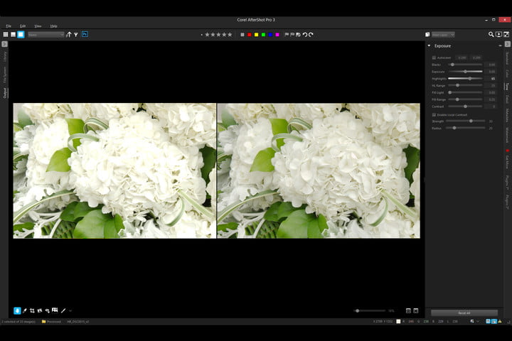 corel aftershotpro3 announced highlight recovery