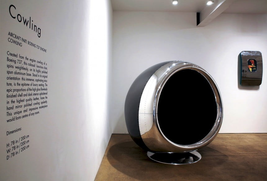 jet engine chair cowling 4