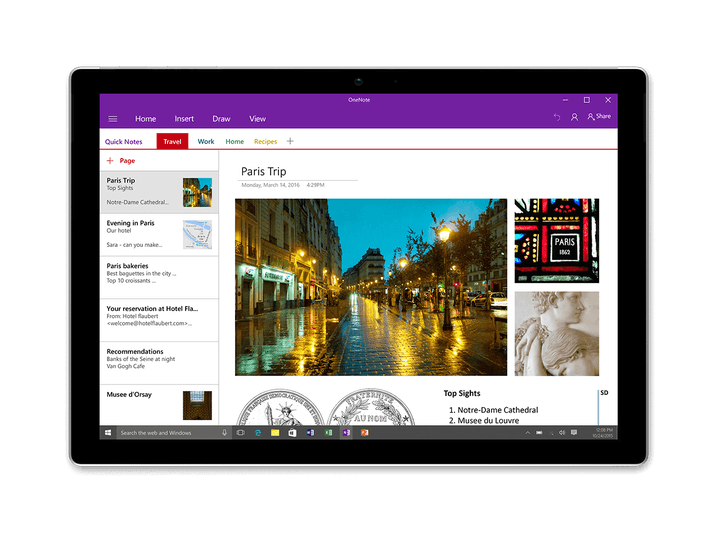 microsoft asks office insiders to find features in may 2017 onenote for windows 10 update create 4x3
