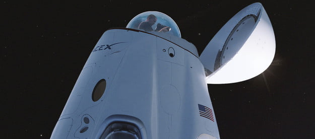 spacex crew dragon to get a glass dome for panoramic views cupola