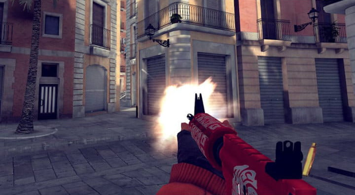 Critical Ops Android game.