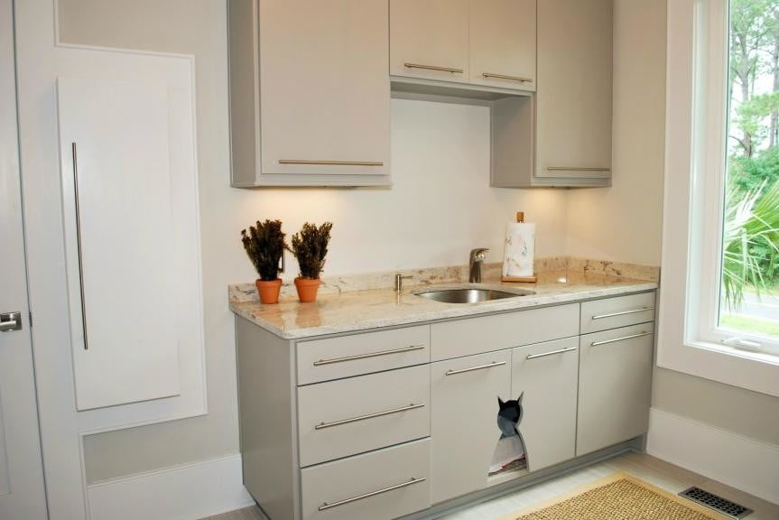 furniture and homes that are made for cat people crosby cabinet