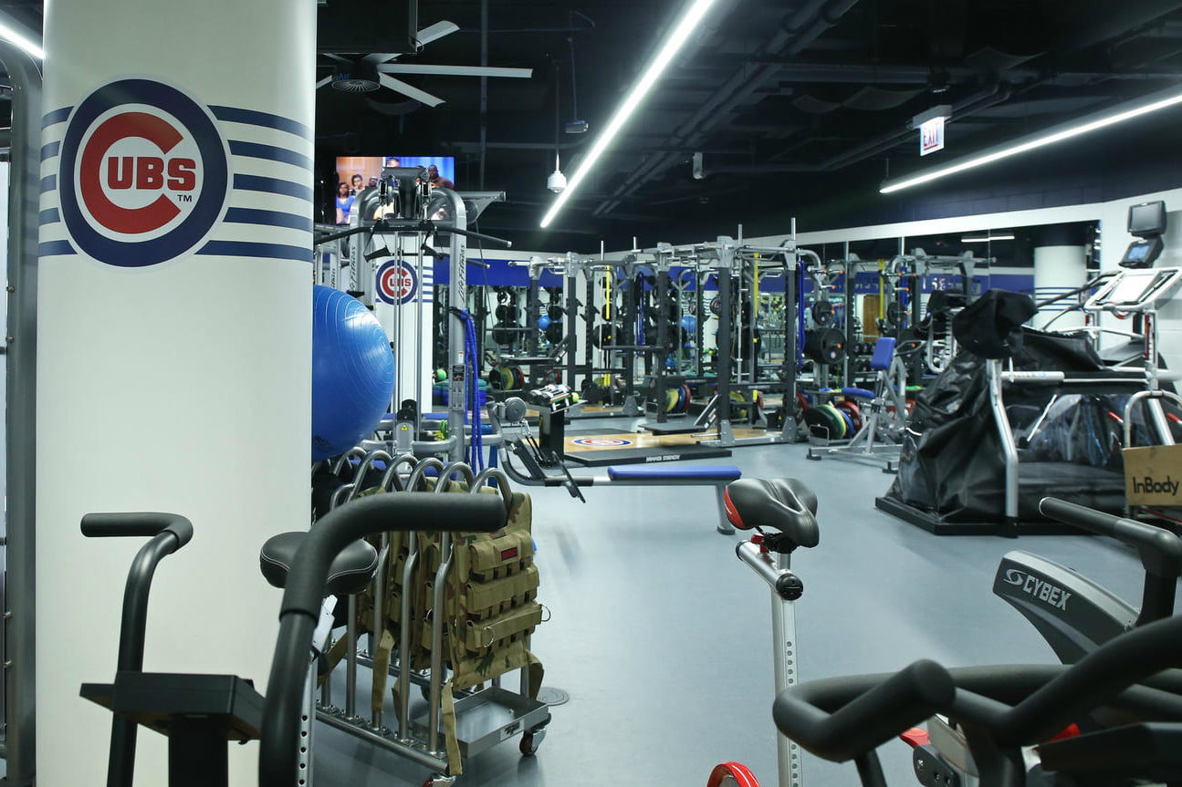 chicago cubs clubhouse gets updated 7