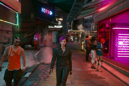 Cyberpunk 2077's sparse new DLC has players disappointed