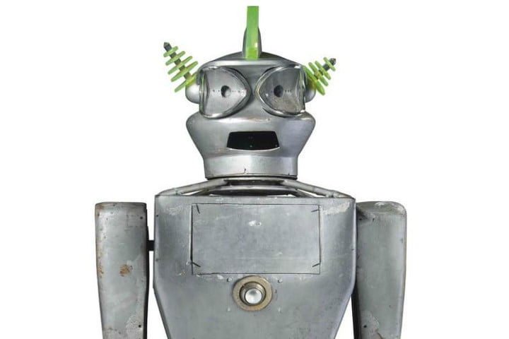cygan 1950s robot fetches more than 27000 at uk auction