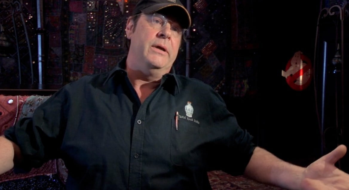 ghostbusters documentary cleanin up the town interview crackle dan aykroyd remembering