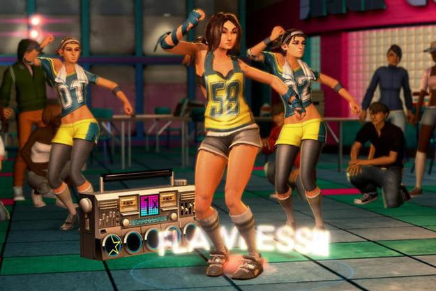 dance central review screen