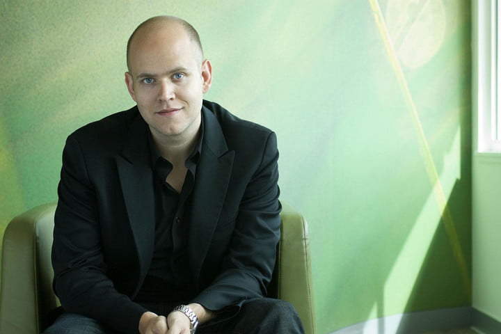 spotify expects to reach 100 million users by year end daniel ek chair