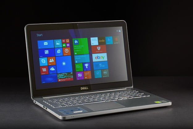 Dell Inspiron 15 7000 review front screen angle