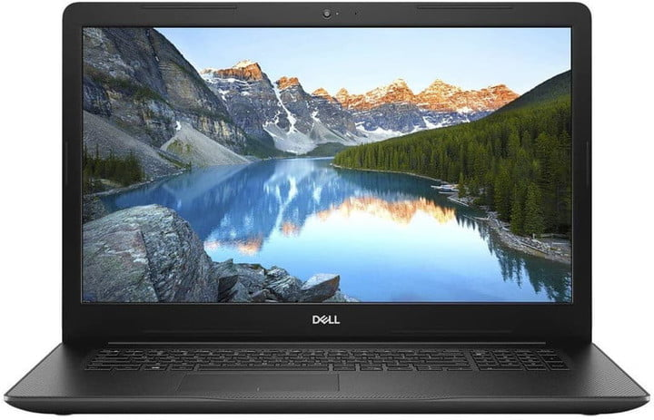 Front view of the Dell Inspiron 17 3000.