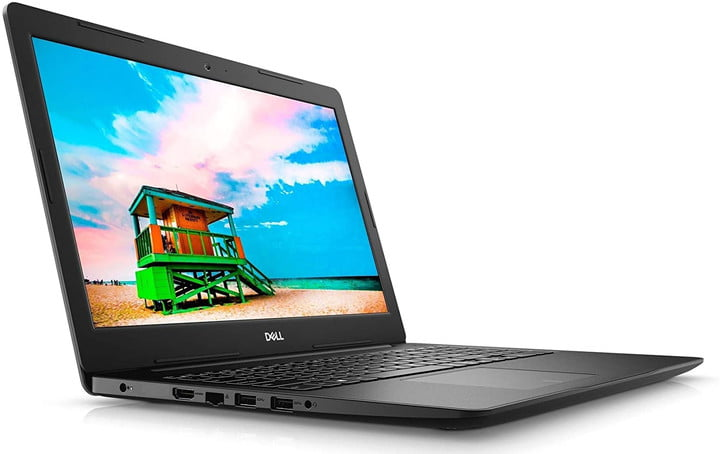 The new Dell Inspiron 15 3000 Laptop on white background.