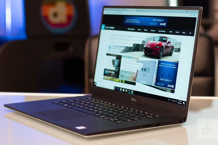 Dell XPS 15 9570 right angle