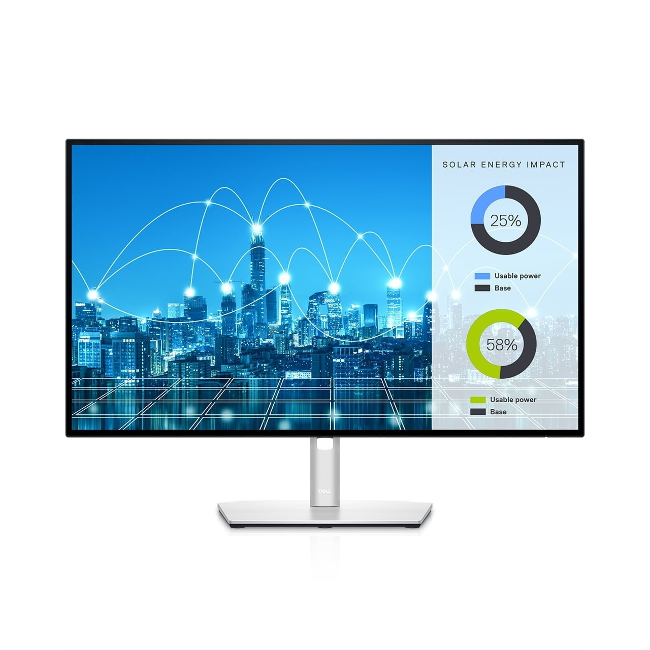 dell refreshes ultrasharp monitors ces 2021 27 monitor front