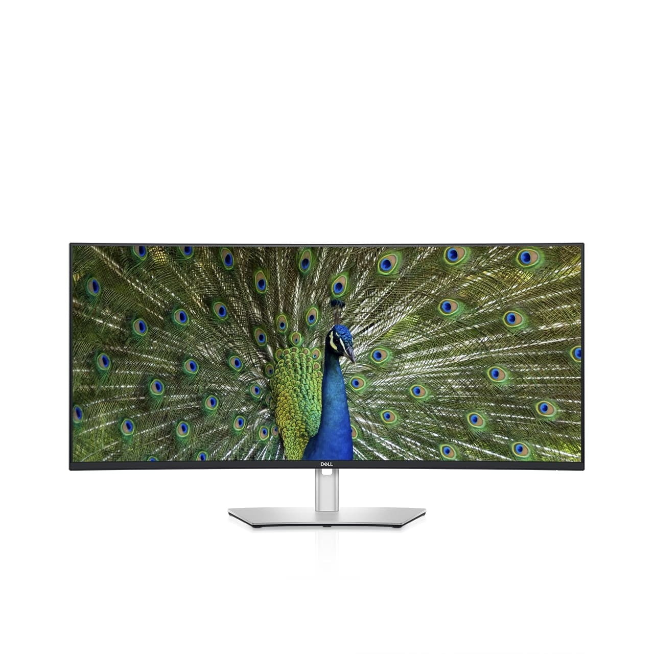 dell refreshes ultrasharp monitors ces 2021 40 curved monitor front 1