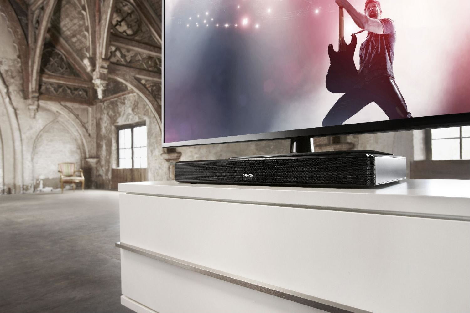 Denon DHT T110 stand side