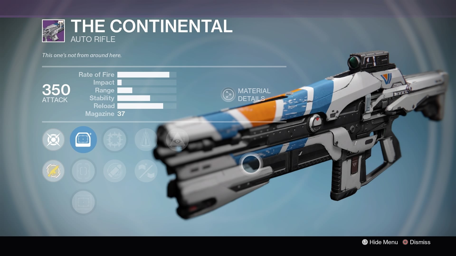funniest gun names destiny rise of iron the continental