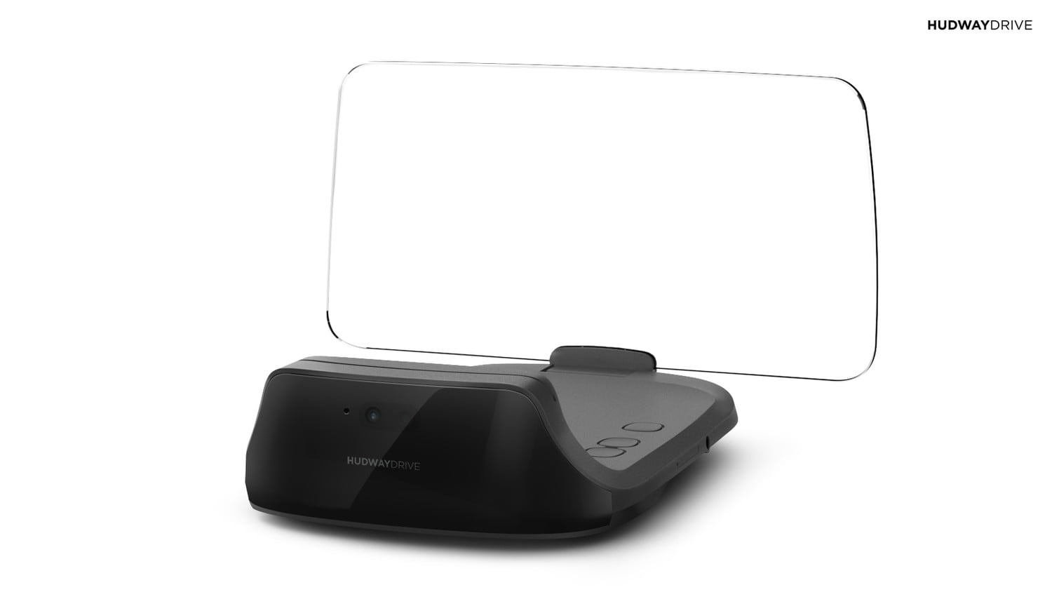 hudway drive heads up display hands on review device side