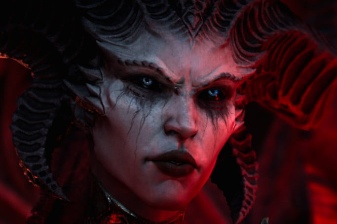 Diablo 4 promotional image of Lillith