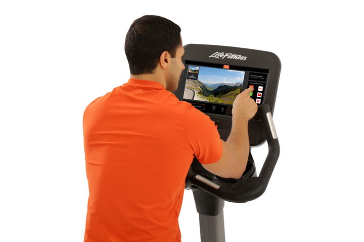 virzoom brings vsports to health clubs vr arcades and lan centers ces 2017 discover se3 console upright bike male exerciser b