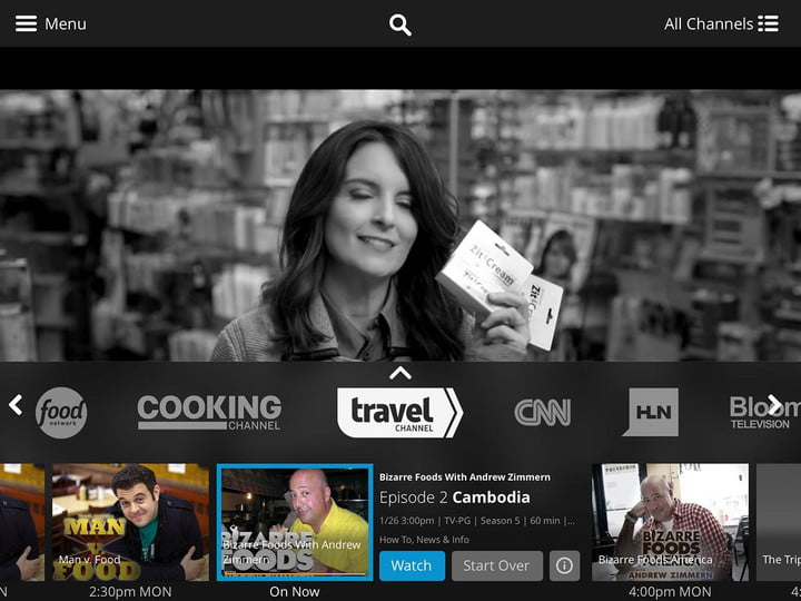 sling tv on android nexus player dish app 0019